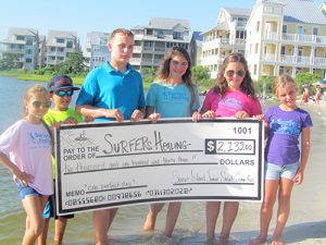 Junior Committee Raises Money For Surfers Healing