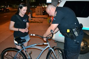 OCPD Distributes Bike Lights, Thanks To Safety Grant