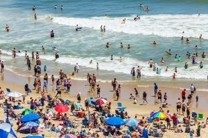 Strong, Safe Holiday Weekend Reported Despite Weather