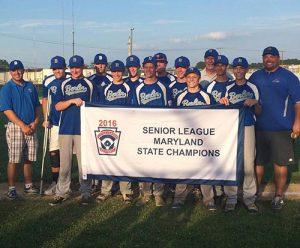 Berlin Sr. All-Stars Win State Championship