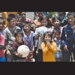 Residents of an orphanage in Guatemala Leah and Romy McVicker will be visiting this month are pictured.