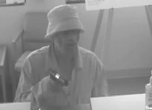 Ocean City Bank Robbery Suspect Wanted
