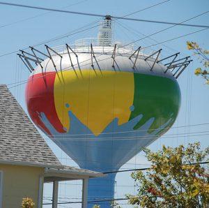 'Beach Ball' Tower Takes Shape; Ocean City's Logo Will Soon Be Added