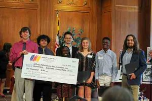 Wicomico County Public School Students Receive Grants And Scholarships From Salisbury Wicomico Arts Council