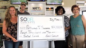 SoDel Cares Donates $4,000 To Pathways To Success