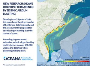 New Maps Quantify Seismic Testing's Impact On Marine Life