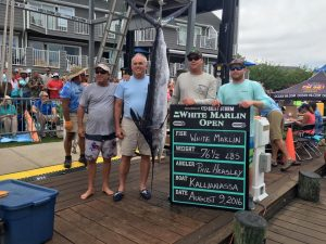 How Everything Looks After Three Days Of White Marlin Open Fishing