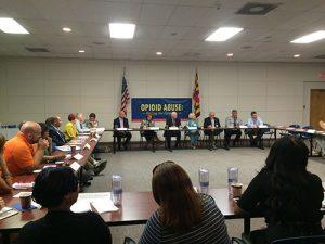 Senator Attends Shore Meeting On Opioid Epidemic