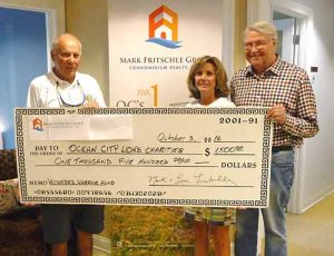 Mark Fritschle Group/Condominium Realty Donates $1,500 To OC Lions' Wounded Warriors Fund