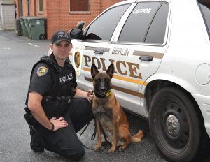 Berlin Police Department Adds Second K-9
