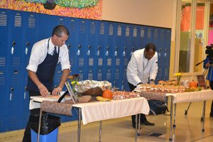 Pocomoke Middle School Hosts Friendly Lunch Challenge