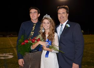 SD High School Crowns Homecoming King And Queen