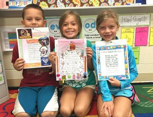 "OC Elementary Students Celebrate Their Published ""Me Poems"""