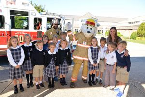 Sparky The Berlin Fire Dog Visits Worcester Prep Lower School