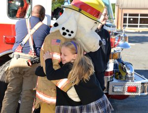 Berlin Fire Company Holds Fire Safety Assembly At Worcester Prep