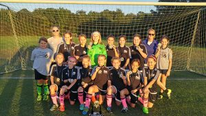 River Soccer Club's Under-11 Girls' Travel Team Wins Championship