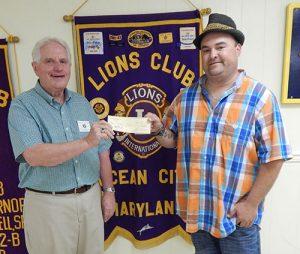 "Chris Dinges Winner Of Ocean City Lions $50,000 ""Pot Of Dollars"" Boardwalk Raffle"