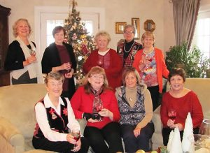 """Ladies Of """"Books By The Bay"""" Enjoy Holiday Luncheon And Book Exchange"""
