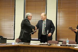 Worcester School Board Member Recognized At Last Meeting