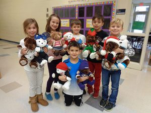 """Second Graders At OC Elementary Take Part In """"Share-A-Bear"""" Project"""
