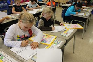 OC Elementary Students Create Books In Writer's Workshop