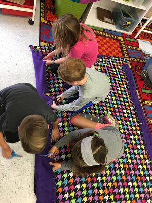 Students Create Handmade Blankets For Charitable Groups