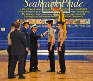 SD High School NJROTC Program Welcomes U.S. Navy Captain Jim Daniels To Annual Inspection