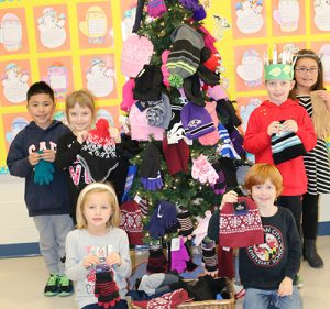 First Graders At OC Elementary Collect Donations For OC Cold Weather Shelter