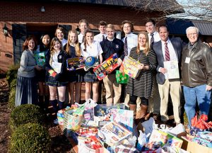 Students From Worcester Prep Middle And Upper School Donate To Worcester G.O.L.D.