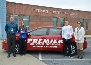 SD High School's Andrews And James Named Premier Driving School Athletes Of The Month