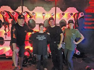 First Lasertron Laser Tag Tournament Held At Planet Maze