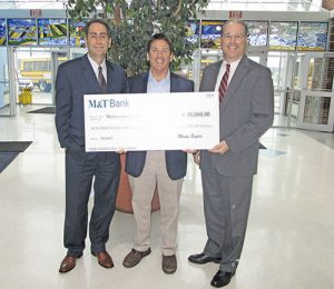 M&T Bank Presents $10,000 Check To Worcester County Education Foundation