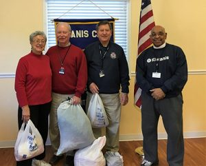 Kiwanis Club And St. Peter's Church Partner Together Collecting Winter Coats, Hats, Gloves And Sweaters