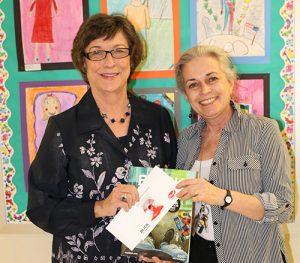 Working Artist Forum Of Easton Presents $150 Gift Card To OC Elementary Art Teacher
