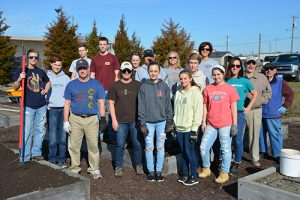 Trinity United Methodist Church's Appalachian Service Project And Rotary Club Of Salisbury Prepare Playground And Garden Beds
