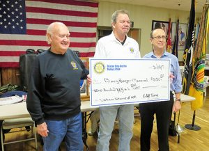 Ocean City/Berlin Rotary Club Past Presidents Present Donation To Barry Berger Memorial