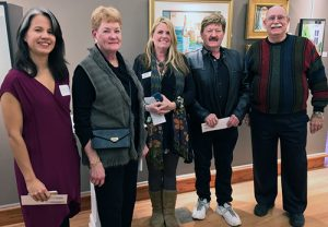 """Art League Of Ocean City Awards Cash Prizes To Winners Of """"Home"""" Themed Art Show"""