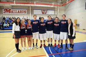 Worcester Prep's Winter Sports Teams Celebrate Senior Night