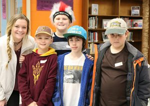 Snow Hill Middle School Holds Heavenly Hats Spirit Week