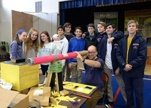 Worcester Prep Ninth- And 10th-Graders Participate In Marker's Day