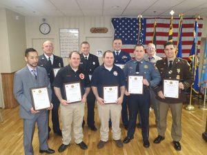 American Legion Celebrates 98th Birthday And Presents Its First Responders Awards Program