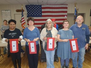 The American Legion Auxiliary Recognizes Active Duty Families With Blue Star Banner Program