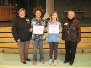 Berlin Intermediate Student Emily Sandt Wins First Place In Maryland, Delaware, D.C. State Association Americanism Poster Contest
