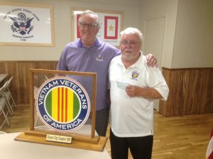 Ravens Roost 44 Presents $500 Donation To Vietnam Veterans Of America