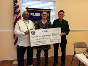 Kiwanis Club Of Greater Ocean Pines-Ocean City Contributes $500 To United Way Imagination Library Program