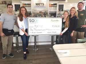 Matt's Fish Camp Donates $1,000 To Phelan-McDermid Syndrome Foundation