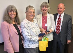 Coastal Hospice's Heart Of Hospice Award Presented To Jenkins And Hawkins During National Volunteer Week
