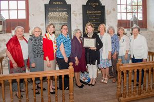 Historic St. Martin's Church Museum Foundation Presented With DAR Historic Preservation Recognition Award