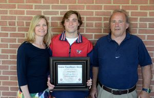 Worcester Prep's Owen Nally, Presented With National Soccer Coaches Of America Senior Excellence Award
