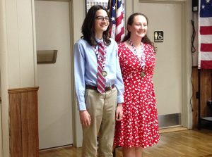 American Legion Auxiliary Holds Luncheon To Recognize Annual Americanism Essay Contest Winners